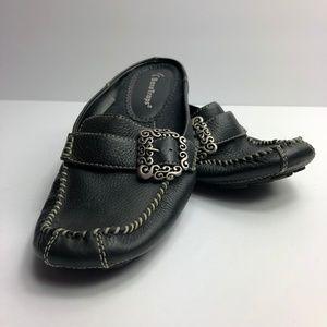 BareTraps Womens Pixy Leather Slip-On Shoes EUC